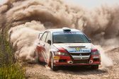 "Championship of Ukraine, the rally ""Kyiv Rus"" — Stock Photo"