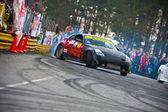 Ukrainian drift championship — Stock Photo