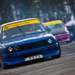 Ukrainian drift championship — Stock Photo