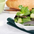 Stock Photo: Salad with cucumber