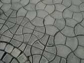Interlocking paving detail — Stock Photo