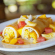 Stock Photo: Fruit Crepes