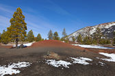 Sunset Crater — Stock Photo