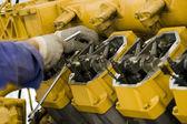 Gran motor mantenimiento ii — Foto de Stock
