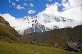 Salkantay peak — Stock Photo