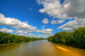 River landscape — Stock Photo