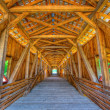 Royalty-Free Stock Photo: Covered bridge