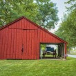Red barn - Stockfoto