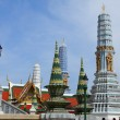 Stock Photo: Thai stupas