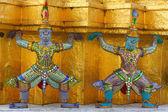 Mythical demon figures — Stock Photo