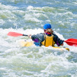 Active kayaker — Stock Photo #9316885