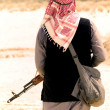 Stock Photo: Muslim rebel