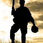 nás voják — Stock fotografie