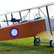 Stock Photo: Old biplane