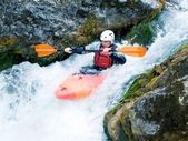 Kayaker — Foto Stock