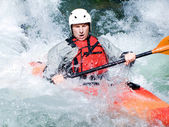 Kayaker — Stockfoto