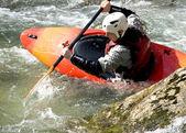 Kayaker — Foto Stock