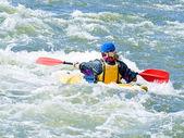 Aktivní kayaker — Stock fotografie