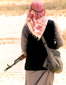 Muslim rebel — Stock Photo