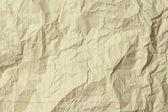 Crumple Yellow Paper Background — Stock Photo
