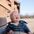 Laughing Young Boy — Stock Photo