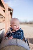 Playful Young Boy — Stock Photo