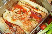Radish kimchi , — Stock Photo