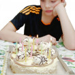 Birthday - sad holiday — Foto de stock #8701132