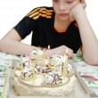 Birthday - sad holiday — Stockfoto #8701132