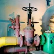 Water pumping station, - Stock Photo