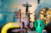 Estación de bombeo de agua, — Foto de Stock