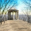 Roman style gazebo — Stock Photo