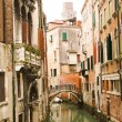 Bridge in Venice, Italy — Stock Photo