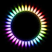 Gas Flame — Stock Vector