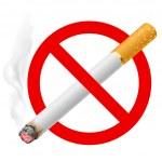 The sign no smoking — Stock Vector