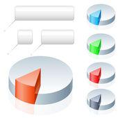 Pie Chart — Stock Vector