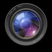 Photo lens — Stock Vector