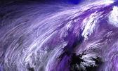抽象冬季风暴. — 图库照片