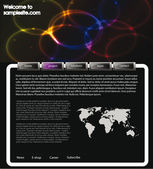 Web site design template 64 — Stock Photo
