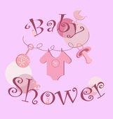 De fundo vector - conjunto de ícones de bebê — Vetorial Stock