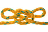 Capitans sheet bend sailing knot — Stock Photo