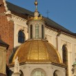 Golden dome of the Chapel — Stock Photo