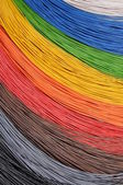 The colors of broadband networks — Stock fotografie