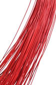 Red cable bunch — Stockfoto