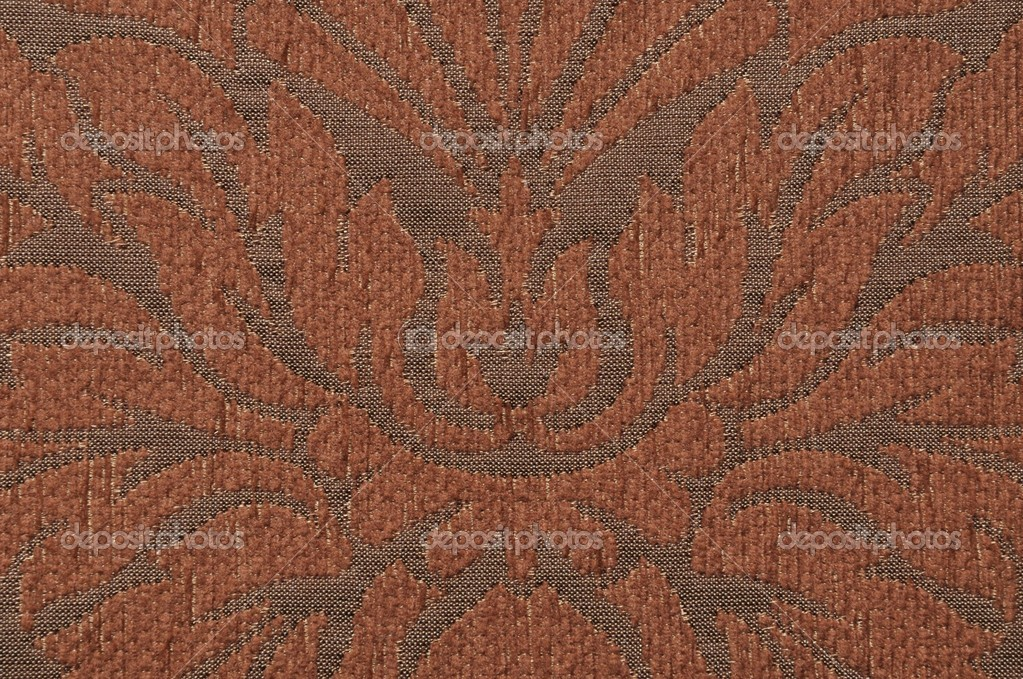 Fabric with brown pattern vintage — Stock Photo #9190107