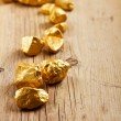 Stock Photo: Gold nuggets