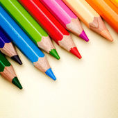 Color pencils — Stockfoto