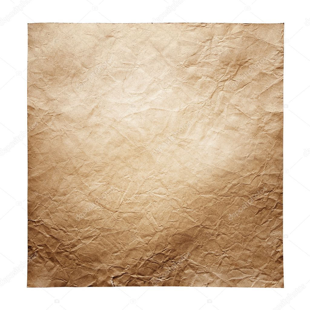 Old paper sheet  Foto Stock #10447643