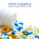 Bottle of pills — Stock Photo