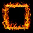 Fire frame — Stock Photo #8034861
